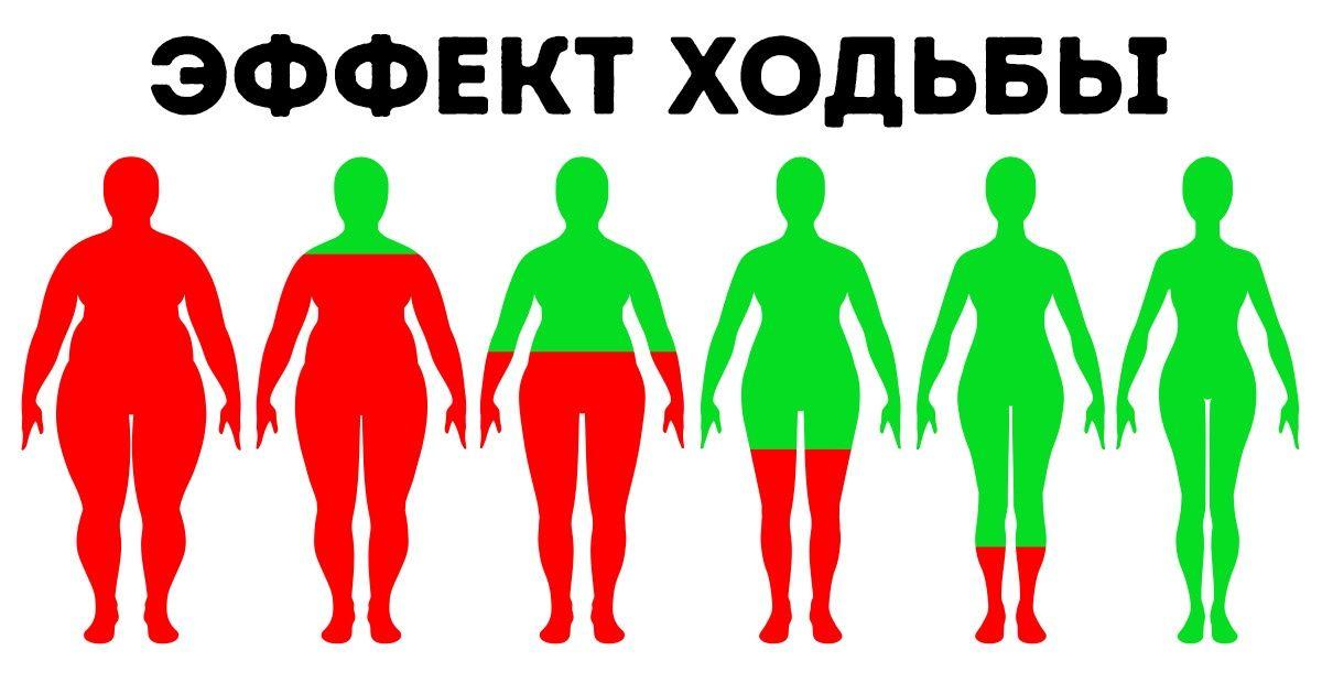 Как сбросить вес за счет ходьбы. 10 советов